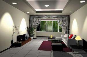 led ceiling light application