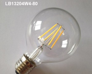 led filament bulb light LB13204W4-80