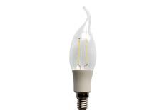 led filament candle light C35T Plastic 2W 3W