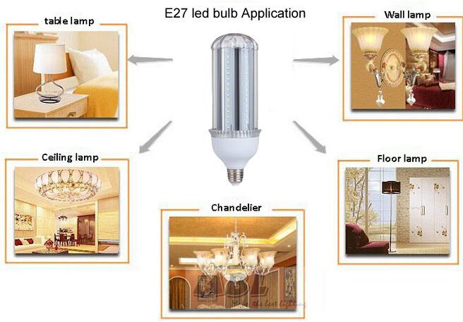 E27 led bulb application