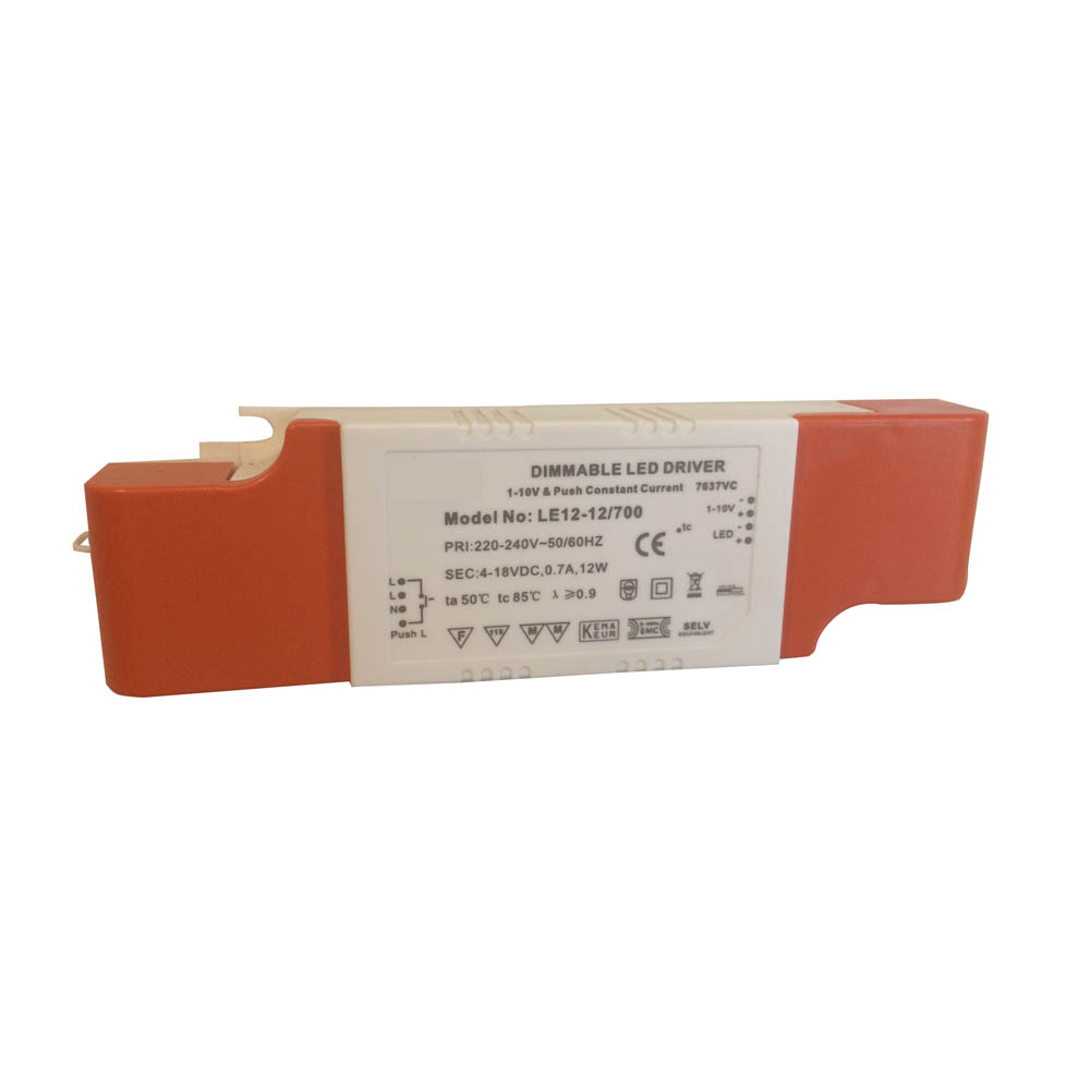 1-10V & Push Dimming LED Driver