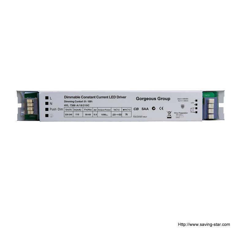 0/1-10v & Push Dimming LED Driver
