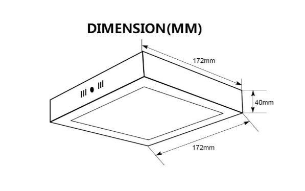 Size drawing surface LED panel