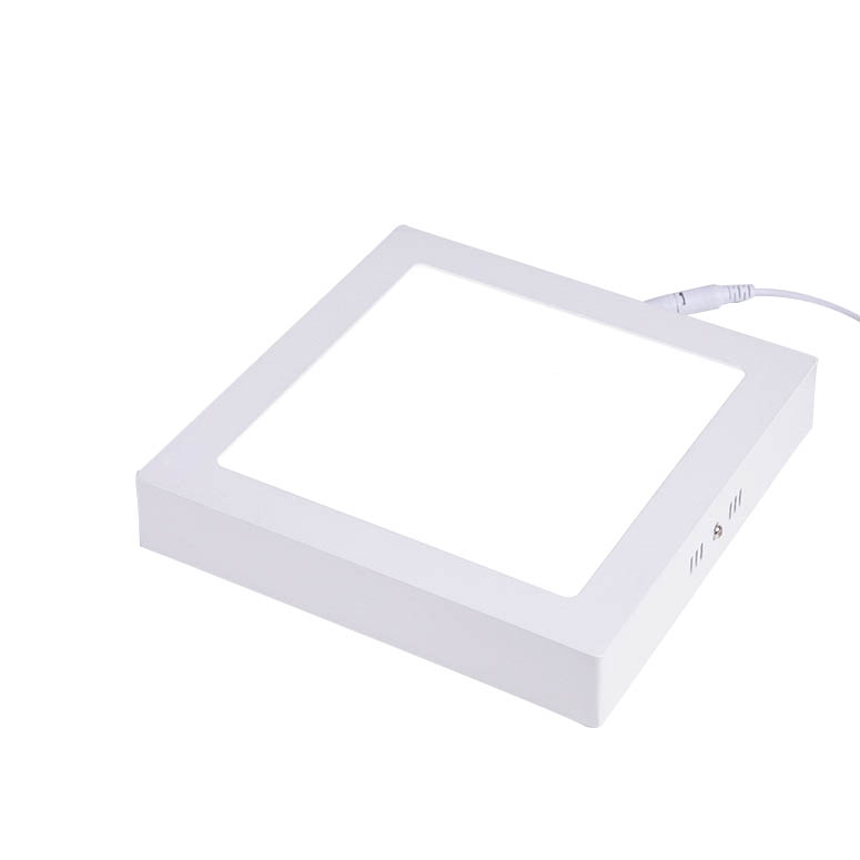 Surface Led Panel Light With Built In Emergency Power