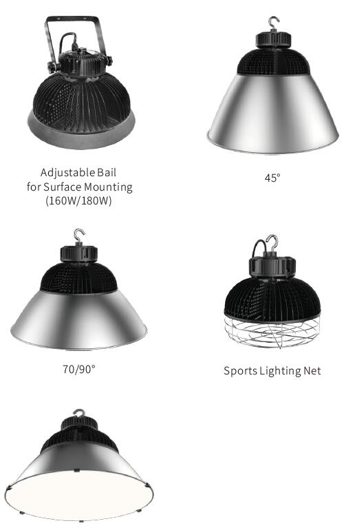 Application and Expansibility DELTA LED bay light