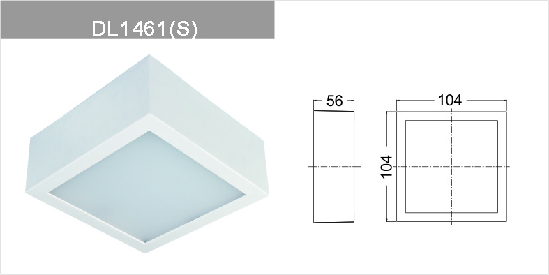 Dimmable led downlight DL146111WS