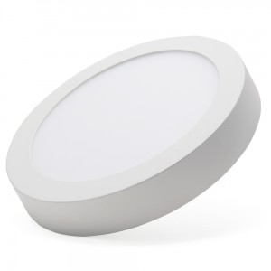 Surface led panel-round shape