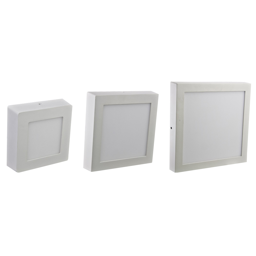 Timbre Luces Low Bay Lighting: Surface Led Panel Light SMP147211WS(D)