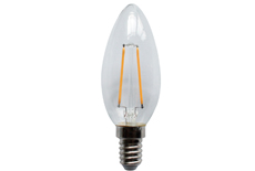 led filament candle light C35-2W 3W