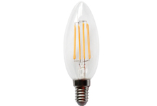 led filament candle light C35-4W
