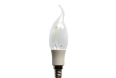 led filament candle light C35T Plastic 2W 3W
