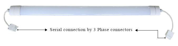 LED Linear Light connection