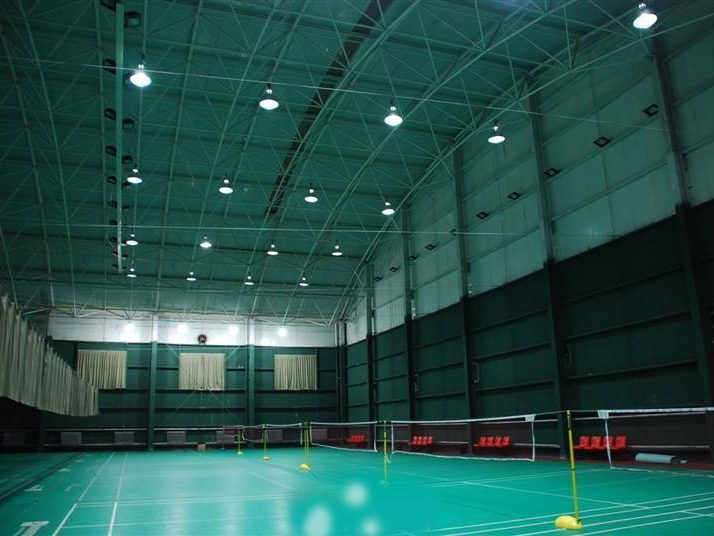 led high bay light application