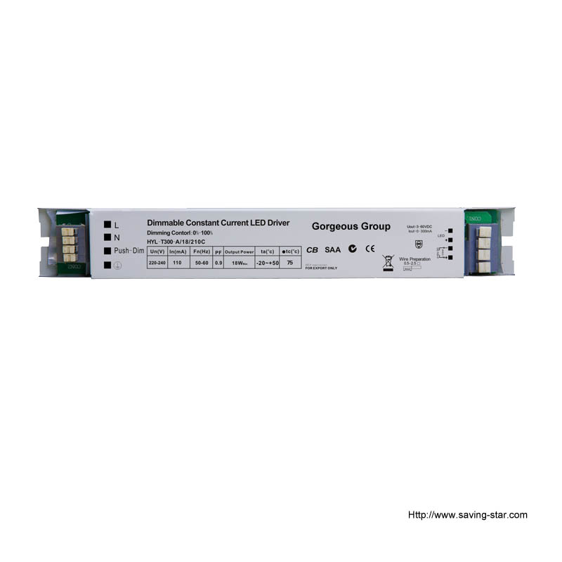 0/1-10v & Push Dimming LED Driver