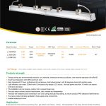 brochure of LED linear light